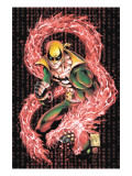 Iron Fist 1 Cover: Iron Fist Prints by Kevin Lau