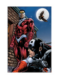 Captain America And The Falcon No.13 Cover: Captain America and Falcon Posters by Dan Jurgens