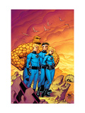 Fantastic Four No.511 Cover: Mr. Fantastic, Invisible Woman, Human Torch, Thing and Fantastic Four Poster by Mike Wieringo