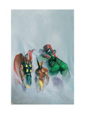 Secret War V1 1 Group: Wolverine, Thor, Hulk and Spider-man Prints