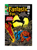 Fantastic Four 52 Cover: Mr. Fantastic Prints by Jack Kirby