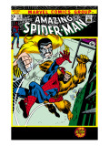 The Amazing Spider-Man 111 Cover: Spider-Man, Gibbon and Kraven The Hunter Art by John Romita Sr.