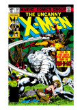 Uncanny X-Men No.140 Cover: Wolverine and Wendigo Poster by John Byrne