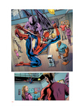 Fantastic Four No.574 Group: Spider-Man, Franklin Richards, Thing and Dragon Man Prints by Neil Edwards
