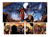 Secret Invasion 8 Group: Spider Woman, Invisible Woman, Pym and Hank Art by Yu Leinil Francis