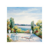 Lakefront View Giclee Print by David Weiss