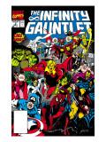 Infinity Gauntlet No.3 Cover: Adam Warlock Poster von George Perez