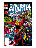 Infinity Gauntlet 3 Cover: Adam Warlock Posters by George Perez