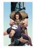 Punisher War Journal 14 Cover: Punisher and Kraven The Hunter Posters by Ariel Olivetti