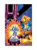 Fantastic Four V1 Cover: Galactus Print by Mike Wieringo