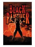 Black Panther No.6 Cover: Black Panther Prints by John Romita Jr.