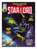 Marvel Preview No.11 Cover: Starlord Posters by John Byrne