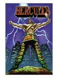 Hercules No.1 Cover: Hercules Kunstdrucke von Mark Texeira