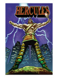 Hercules No.1 Cover: Hercules Prints by Mark Texeira