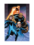 Ultimate Fantastic Four 60 Cover: Invisible Woman, Mr. Fantastic, Thing and Human Torch Poster by McGuiness Ed