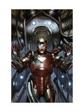 Iron Man: Director Of S.H.I.E.L.D. #31 Cover: Iron Man Poster van Adi Granov