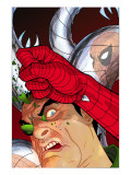 Doc Ock: Negative Exposure No.4 Cover: Doctor Octopus and Spider-Man Prints by Tony Harris