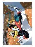 X-Men Power Pack No.3 Cover: Nightcrawler and Energizer Posters by GuriHiru