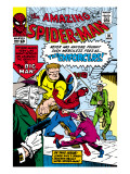 Amazing Spider-Man No.10 Cover: Spider-Man Print by Steve Ditko