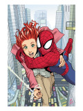 Spider-Man Loves Mary Jane No.1 Cover: Spider-Man, and Mary Jane Watson Posters by Miyazawa Takeshi