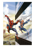 Amazing Spider-Man Family 5 Cover: Spider-Man and Spider-Girl Print by Ron Frenz