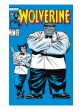 Wolverine No.8 Cover: Wolverine and Hulk Posters by Liefeld Rob