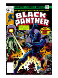 Black Panther 2 Cover: Black Panther, Princess Zanda and Hatch-22 Charging Prints by Jack Kirby