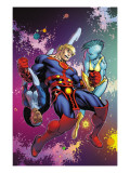Eternals Annual 1 Cover: Ikaris Art by McGuiness Ed