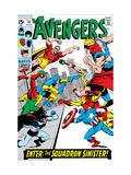 Avengers No.70 Cover: Hyperion Posters par Buscema Sal