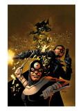 Punisher Vs. Bullseye No.5 Cover: Punisher and Bullseye Prints by Steve Dillon