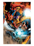 War of Kings: Ascension 4 Group: Gladiator, Havok and Darkhawk Prints by Wellinton Alves