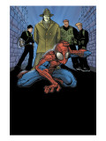 Marvel Age Spider-Man No.9 Cover: Spider-Man, Big Man, The Ox and Enforcers Prints by Patrick Scherberger