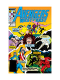 Avengers West Coast 49 Cover: Scarlet Witch Posters by Byrne John