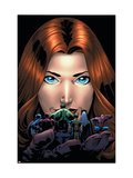 Marvel Adventures Avengers No.20 Cover: Giant-Girl Prints by Kirk Leonard