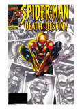 Spider-Man: Death & Destiny 1 Cover: Spider-Man Art by Lee Weeks