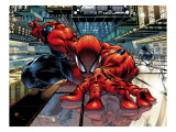 The Sensational Spider-Man 23 Cover: Spider-Man Poster von Medina Angel