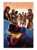 New Warriors No.11 Cover: Night Thrasher Posters