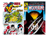 Marvel Comics Presents 2 Cover: Wolverine Affiches par John Buscema