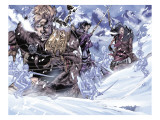 Thor Son Of Asgard No.3 Group: Thor, Sif and Balder Prints by Greg Tocchini
