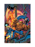 Fantastic Four 535 Cover: Human Torch, Invisible Woman, Mr. Fantastic, Thing and Fantastic Four Prints by Mike McKone