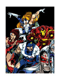 The Official Handbook Of The Marvel Universe Teams 2005 Group: Iron Man Posters by Tenney Thomas