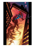 Ultimate Spider-Man No.110 Cover: Spider-Man and Kingpin Crawling Prints by Mark Bagley