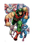 Avengers Classic No.9 Cover: Wonder Man Prints by Arthur Adams