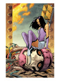 Ultimate X-Men No.88 Cover: Psylocke and Sentinel Posters by Paquette Yanick