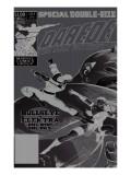 Daredevil No.181 Cover: Bullseye, Daredevil and Elektra Schilderijen van Frank Miller