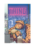 Thing: Freakshow No.2 Cover: Thing Láminas por Kolins Scott