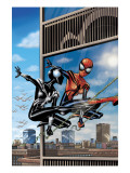 Spider-Girl No.76 Cover: Spider-Girl Lifting Print by Ron Frenz