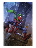 Marvel Adventures Spider-Man No.46 Cover: Spider-Man Posters by Francis Tsai