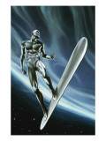 Silver Surfer 8 Cover: Silver Surfer Posters
