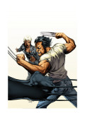 Ultimate X-Men 67 Cover: Wolverine and Storm Poster par Tom Raney